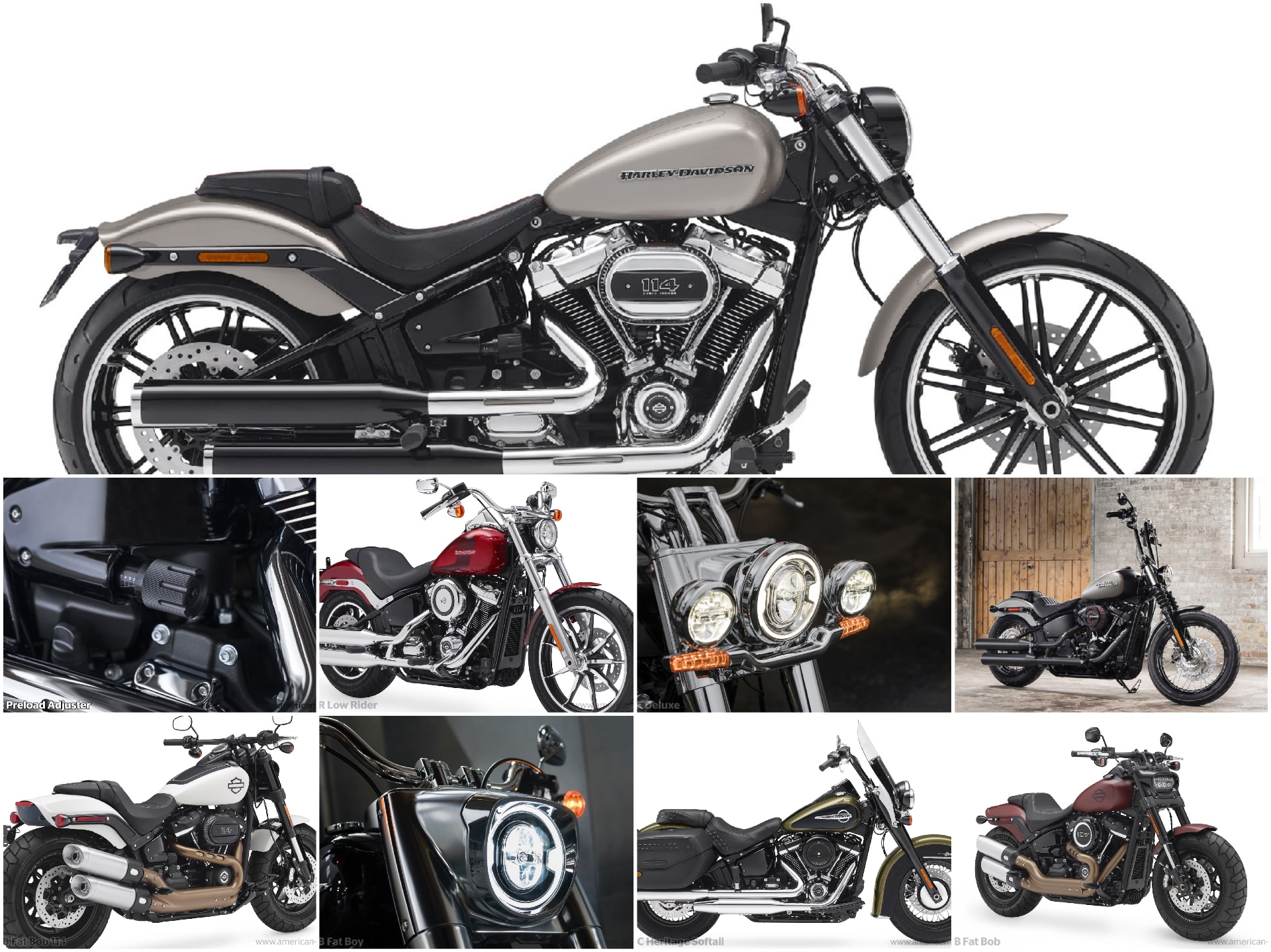 Harley-Davidson 2018: Massive Changes to Dyna and Softail Ranges